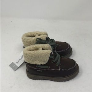 Carter's toddler boys boots brown 9 a19b2